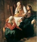 Málverk eftir J. Vermeer