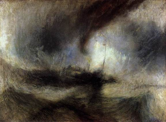 Málverk eftir Turner