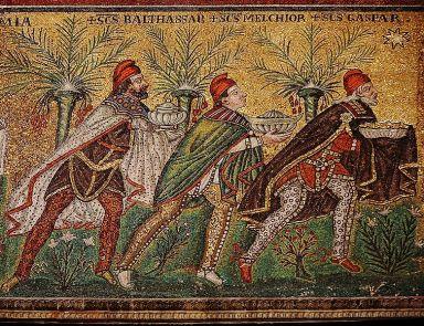 Mosaíkmynd frá Ravenna